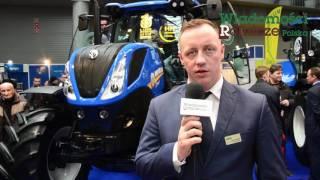 Maszyny i nowości New Holland na Agrotech 2017