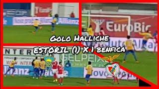 Soco no estomago! GOLO HALLICHE Estoril vs Benfica