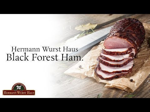 How To Make Black Forest Hams - Hermann Wurst Haus