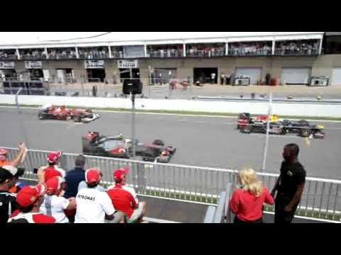 F1 Start 2012 Canada Grand Prix