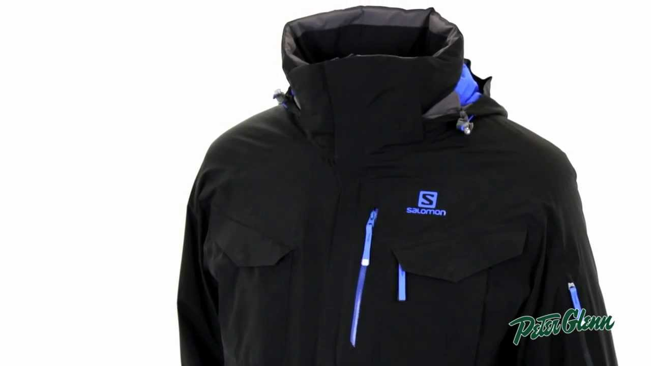 17968914d7 Salomon Men s Amont Ski Jacket Review by Peter Glenn - YouTube