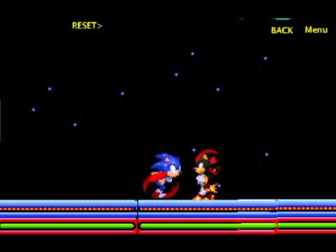 Sonic vs shadow scene creator part 1 youtube