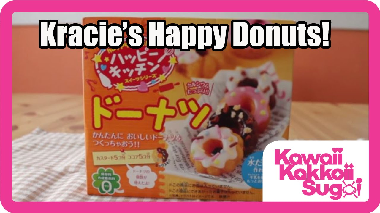 f434dceb4 Kracie's Happy Kitchen Donuts! Instructions - YouTube