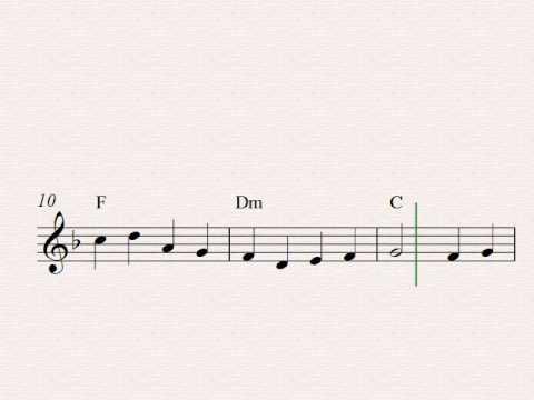 God Rest Ye Merry, Gentlemen - Free easy Christmas soprano recorder sheet music
