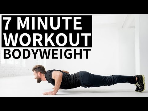 7 Minute Bodyweight Workout (No Equipment Needed)