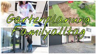Familyvlog| Gartenplanung 2.0.| Garageneinfahrt | Rasen| Die Siwuchins
