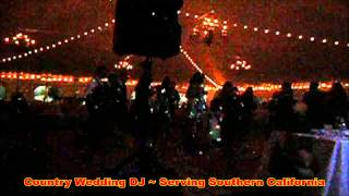 Country Wedding DJ at Boulder Creek Ranch 7/20/13