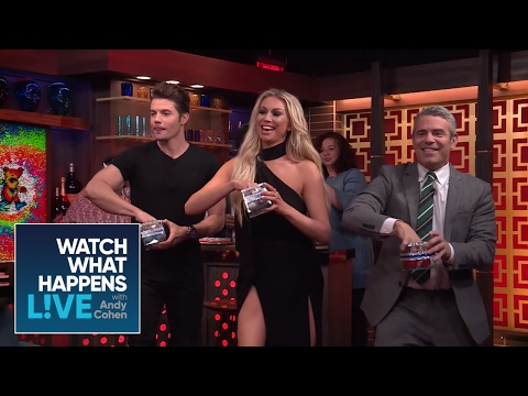 Stassi Schroeder And Josh Henderson Play Beer Dong With Models!  Vanderpump Rules  WWHL