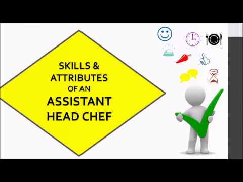 TFS Assistant Head Chef Training