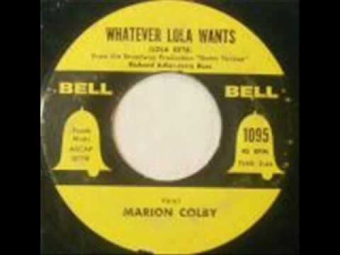 Marion Colby - whatever lola wants..wmv