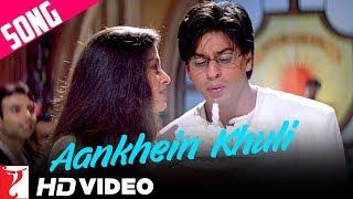 Aankhein Khuli Song | Mohabbatein | Shah Rukh Khan | Aishwarya Rai