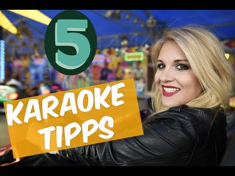 5 MISTAKES YOU MAKE  AT KARAOKE