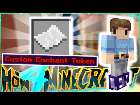 CASHING IN MY CUSTOM ENCHANT TOKEN 🌟 - How To Minecraft S4 #59