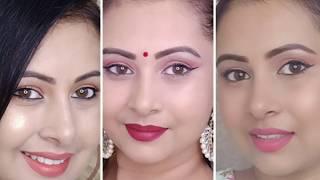 गर्मियों में आसान मेकअप ऐसे करें|3 Easy simple makeup tutorial | sweat proof long lasting| Kaur Tips