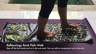 My Reflexology Rock Path