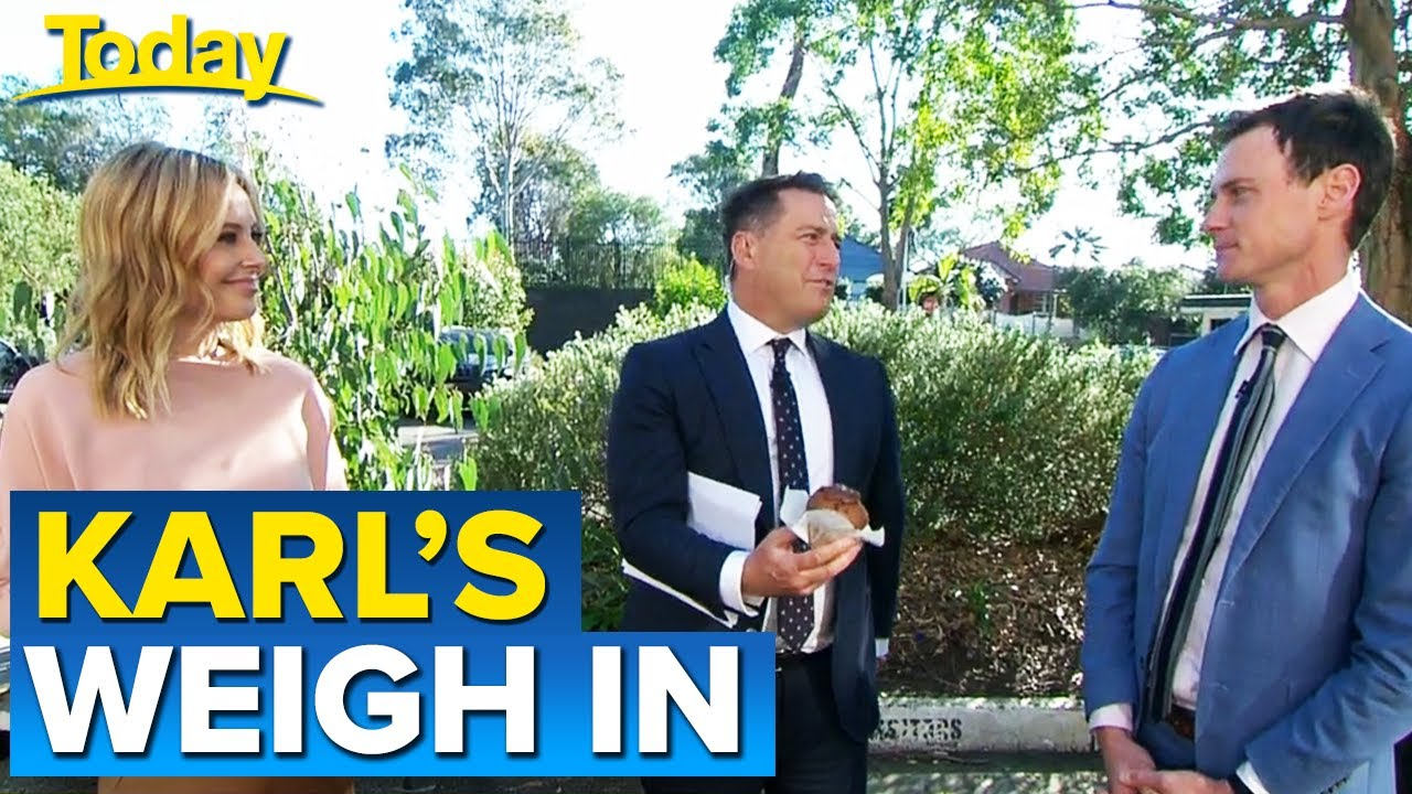 Karl's final weigh-in for 10-week weight loss challenge   Today Show Australia