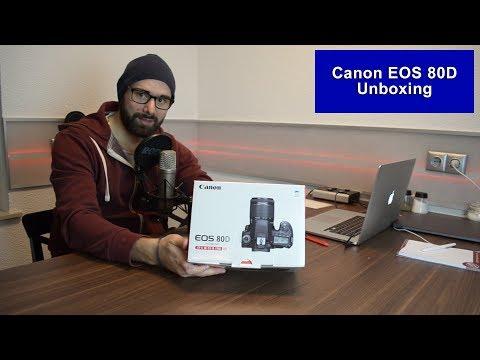 Canon EOS 80D [Unboxing] [HD]