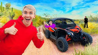SEARCHING for SECRET AGENT CODE to STOP MYSTEY NEIGHBOR in OFF-ROAD SPY MACHINE