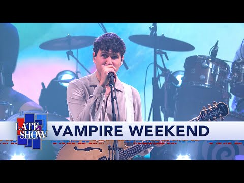 Amber Miller - WATCH Vampire Weekend do Sympathy on Colbert