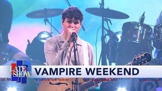 Vampire Weekend Performs 'Sympathy'