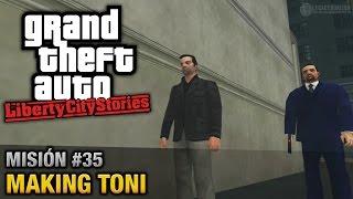 GTA Liberty City Stories - Misión #35 - Making Toni (Español/Sin Comentario - PCSX2)