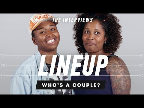 People Guess Who's a Couple from a Group of Strangers (Post Interview) - Lineup
