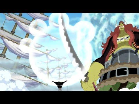 Little Oars Jr.aparece En Marineford One Piece