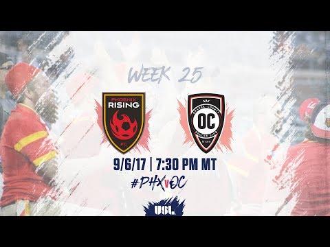 USL LIVE - Phoenix Rising FC vs Orange County SC 9/6/17