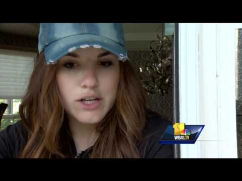 Pikesville package theft caught on video