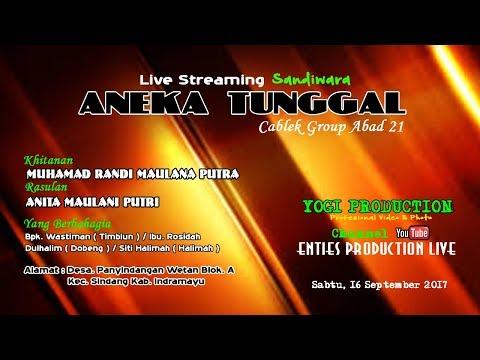 Live sandiwara ANEKA TUNGGAL Desa. Panyindangan Wetan 16 September 2017 MALAM