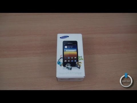 Samsung Galaxy Player 3.6 Unboxing - BWOne.com