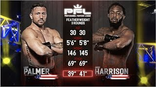 PFL Full Fight Friday: Lance Palmer vs. Andre Harrison from PFL Playoffs: New Orleans.