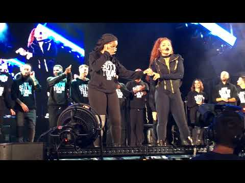 Janet Jackson - Rhythm Nation Dancer Introductions - Hollywood Bowl - SOTW Tour