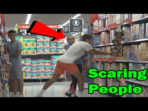 Scaring People In Public Prank (FT. IRELAND BOYS PRODUCTIONS & ROHANTV)
