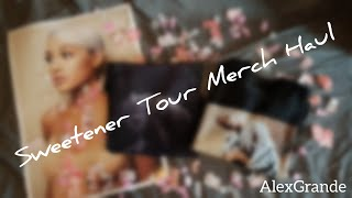 Sweetener Tour Merch Haul! | AlexGrande
