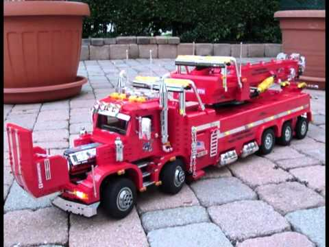 Lego Kenworth T800 Ts Tow Truck By Sephirot8082 Mpg Youtube