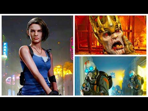 ИГРОНОВОСТИ Resident Evil 3 за два часа, Doom Eternal Denuvo, разница Xbox и PS 5, Half-Life: Alyx