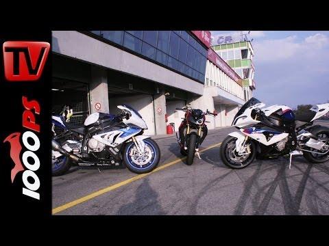 BMW S 1000 R vs BMW S 1000 RR vs BMW HP4 | mit Juliane Eger und Markus Reiterberger