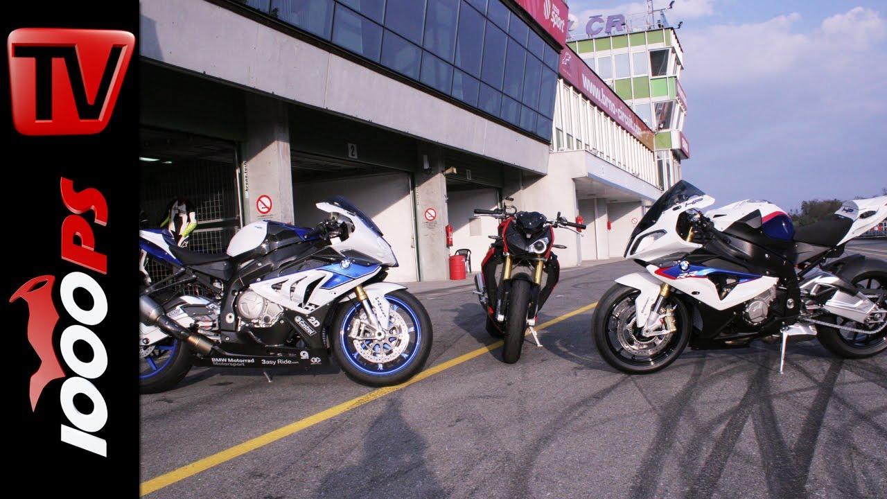 Bmw S 1000 R Vs Bmw S 1000 Rr Vs Bmw Hp4 Mit Juliane Eger Und Markus Reiterberger