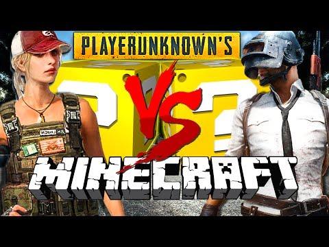 Minecraft: PLAYER UNKNOWN BATTLEGROUNDS LUCKY BLOCK CHALLENGE | POOR MADELYN!!