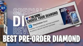 Which Special Edition Pre Order Diamond Should I Choose | MLB The Show 19