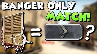 BANGER ist für SILBER 1 Spieler? - BANGER ONLY MIRAGE MATCHMAKING! :D