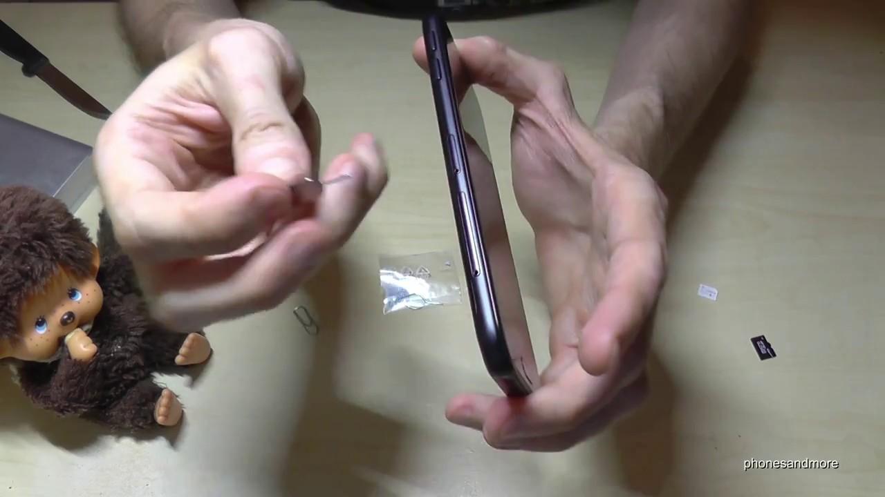 comment mettre une carte sim dans un samsung j3 Samsung Galaxy J3 (2017): How to insert the SIM card? Installation