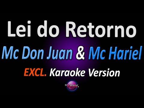 LEI DO RETORNO (Karaoke Version) - Mc Don Juan & Mc Hariel