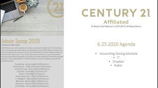 6.25.2020 Staff Webinar