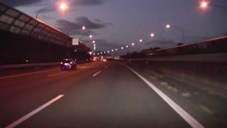 車載動画 周遊 名神高速京都南IC〜阪神高速8号京都線山科出入口