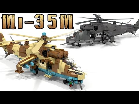 Wn Lego Mi 24 Hind Russian Helicopter Model Kit Instructions