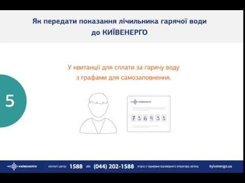 """Как подать показания счетчиков в ПАО """"КиевЭнерго"""""""