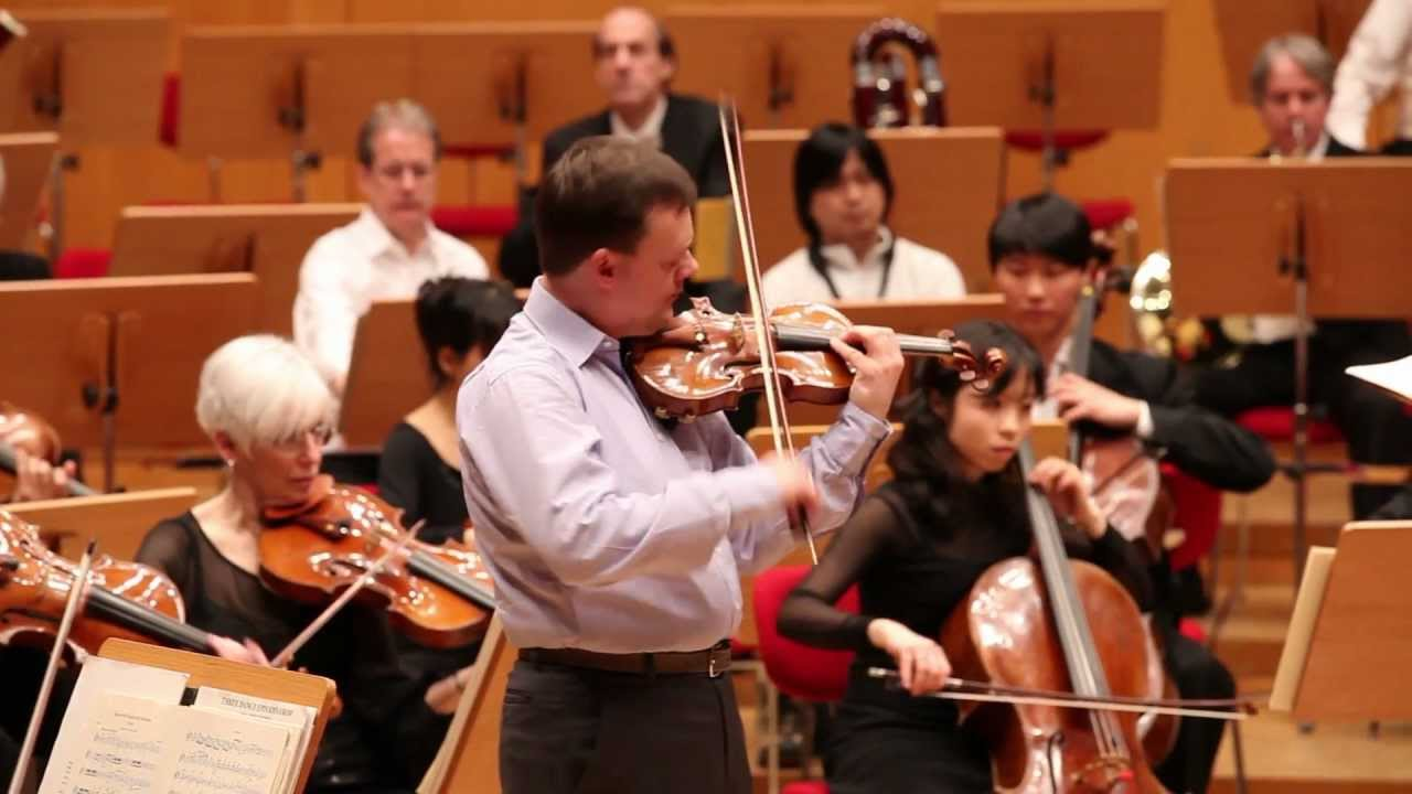EUROPE/WINTER TOUR 2012: Alan Gilbert, Frank Peter Zimmermann, and Beethoven 02/02/2012