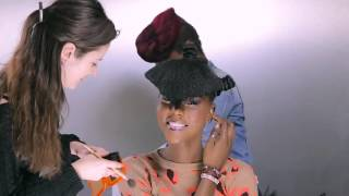 Futuristic Hair Murielle Kabile